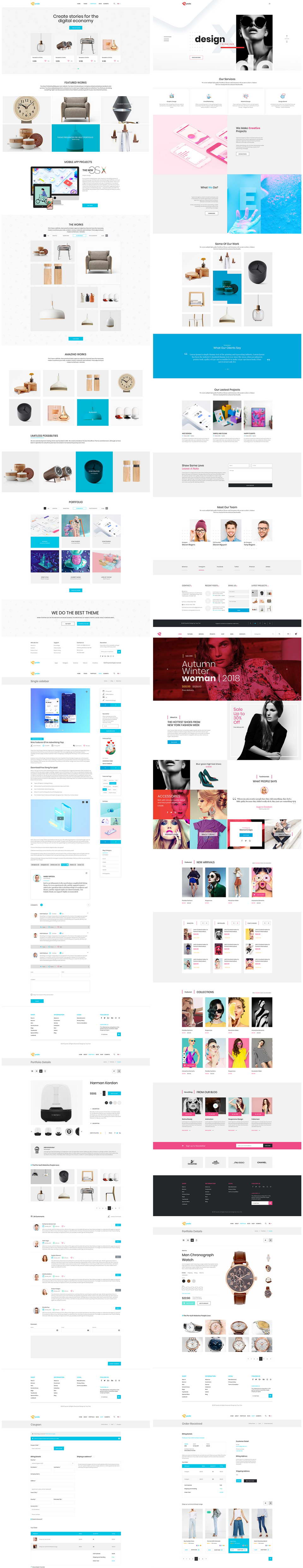 free sketch web templates