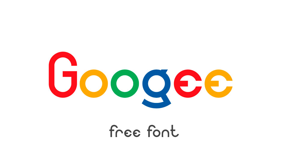 googee free font