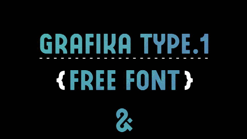 grafika type free font