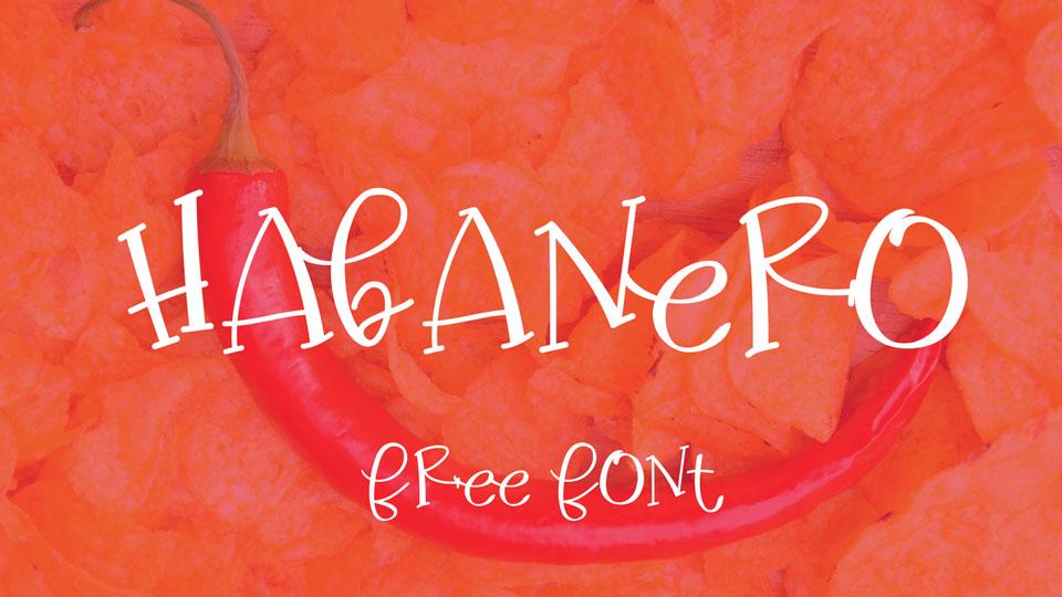habanero free font