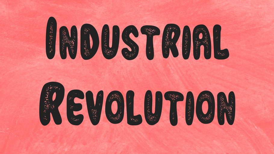 industrial revolution free font
