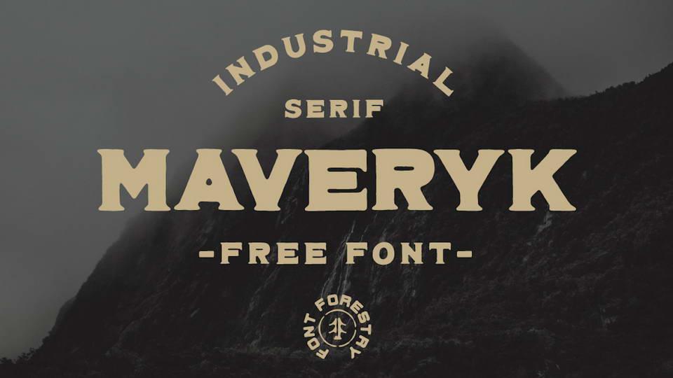 maveryk free font