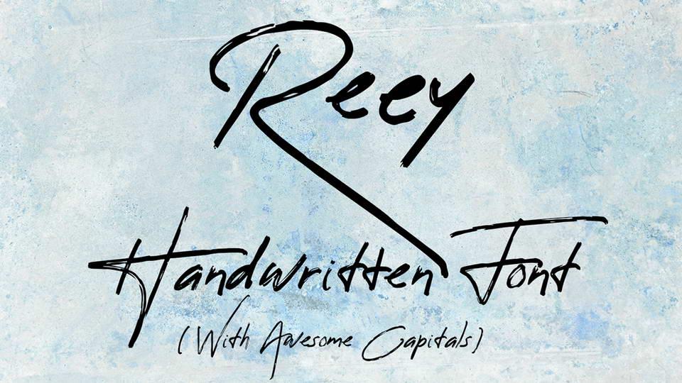 reey free font