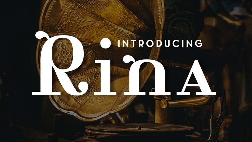 rina free font
