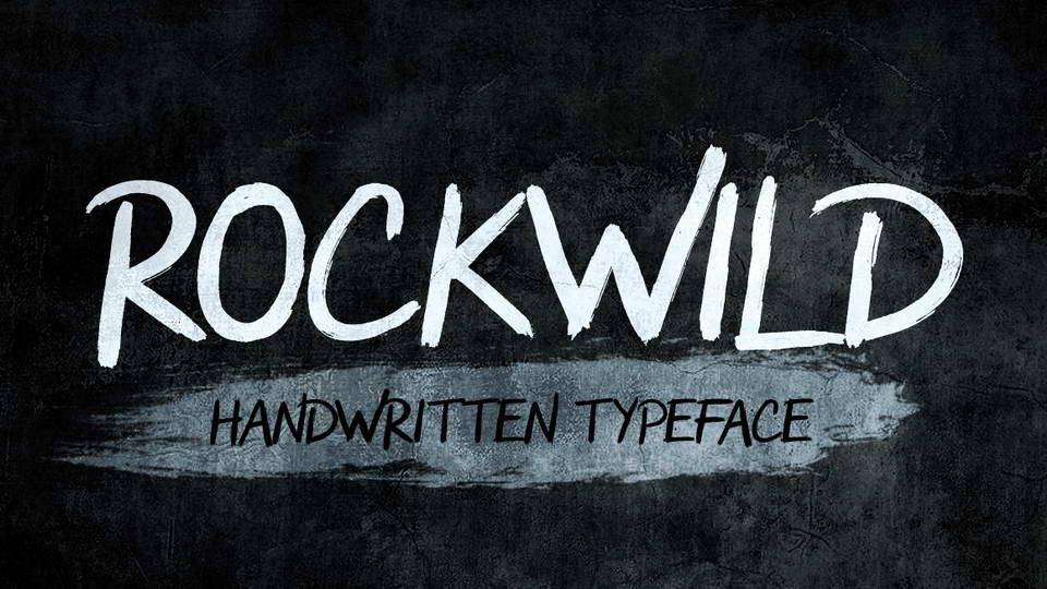 rockwild free font