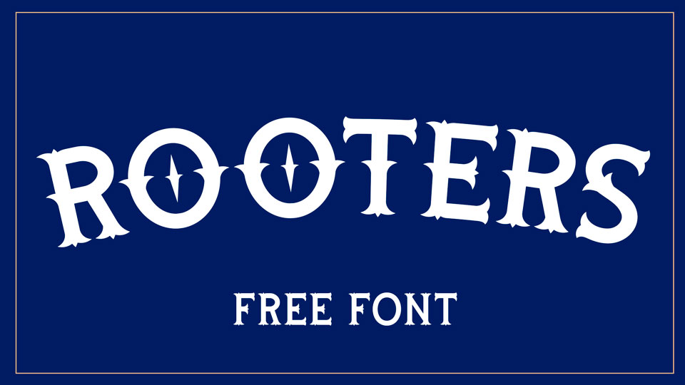 rooters free font