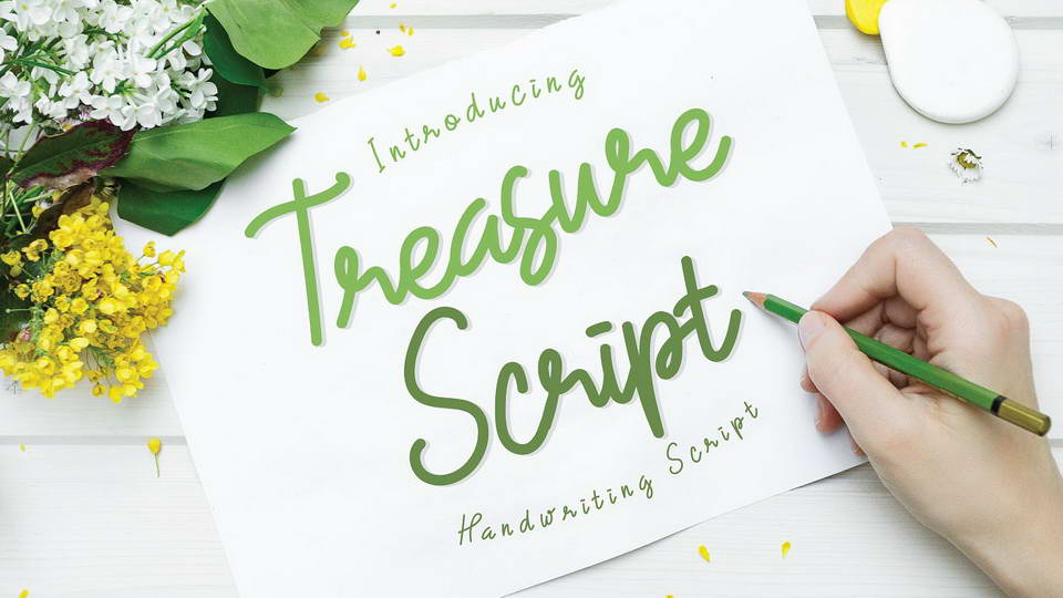 treasurescriptfreefont