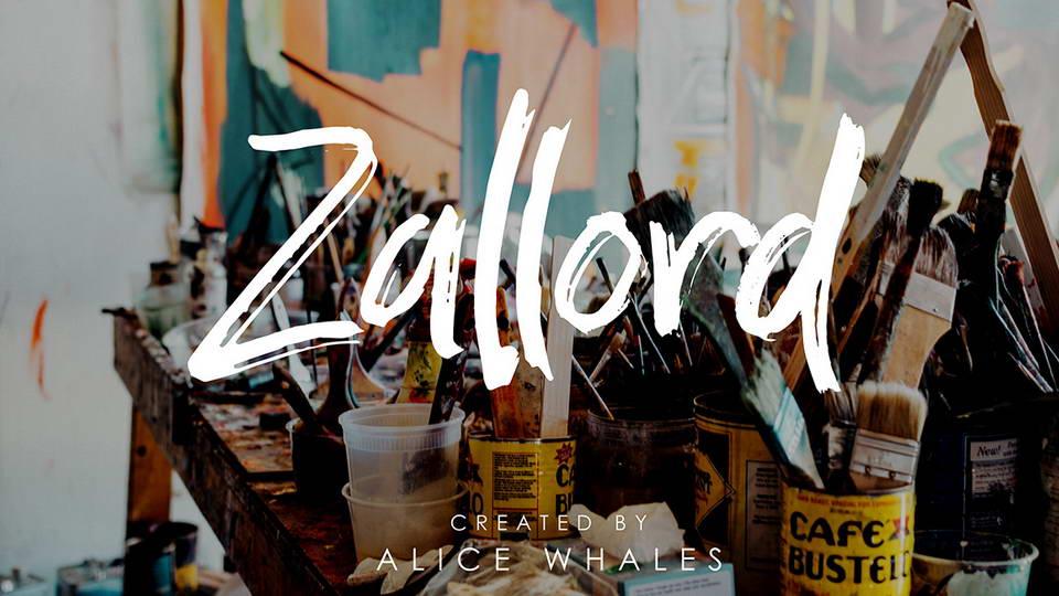 zallord free font
