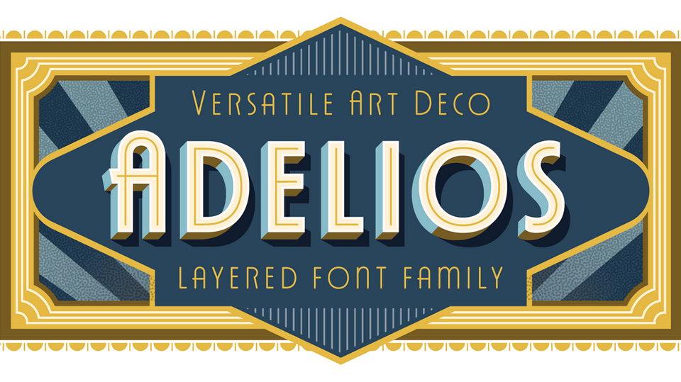 adelios free font