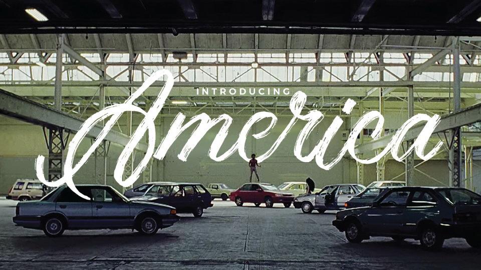america free font