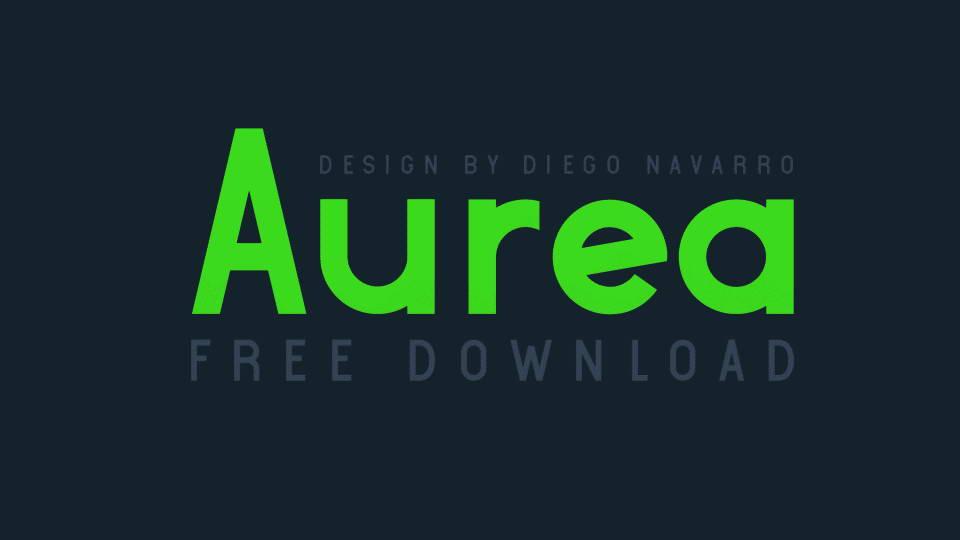 aurea font download