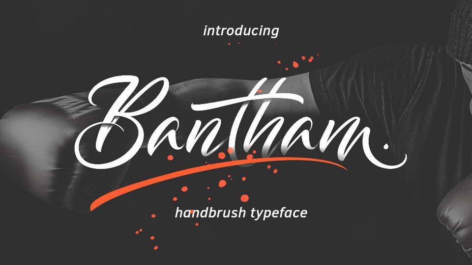 bantham free font