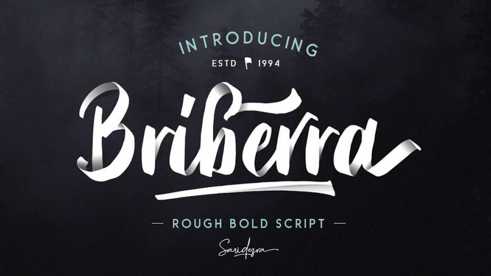 briberra free font
