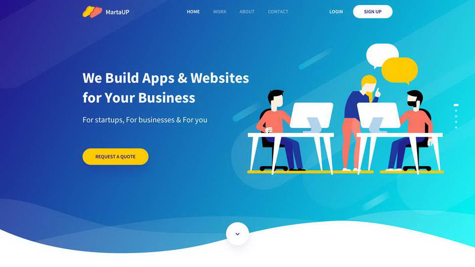 download web template