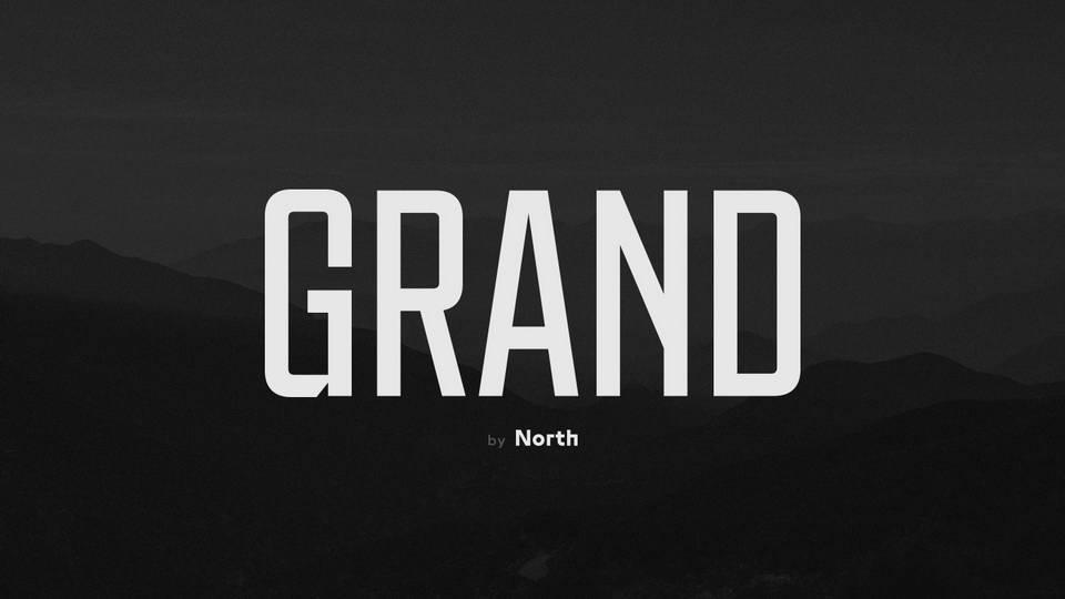 grand free font