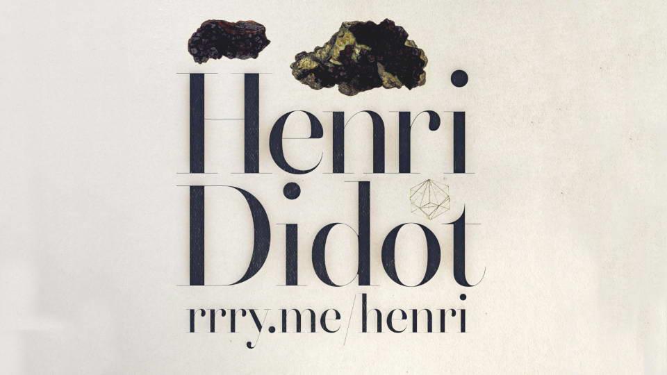 henri didot free font