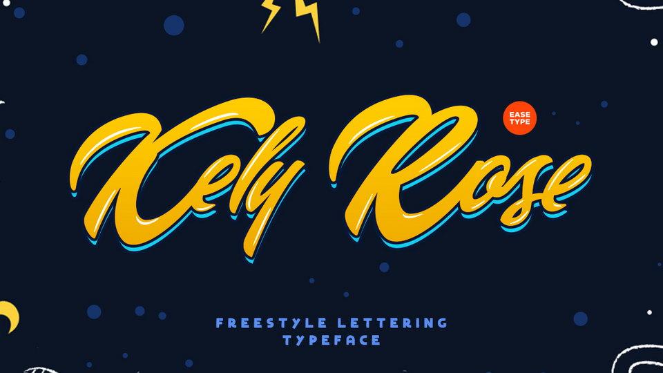 kely rose free font