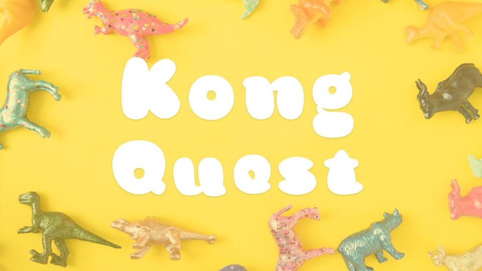 kong quest free font