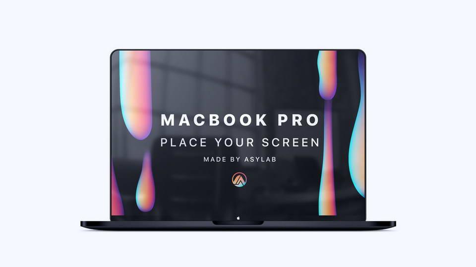 macbook pro free mockup psd