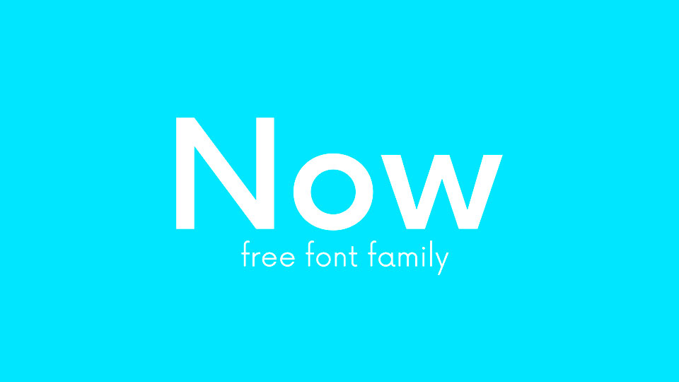 10 Geometric Sans Serif Fonts Free For Commercial · Pinspiry