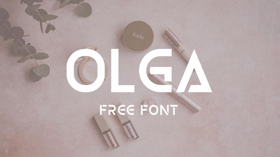 olga free font