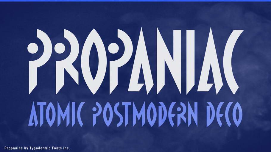 propaniac free font
