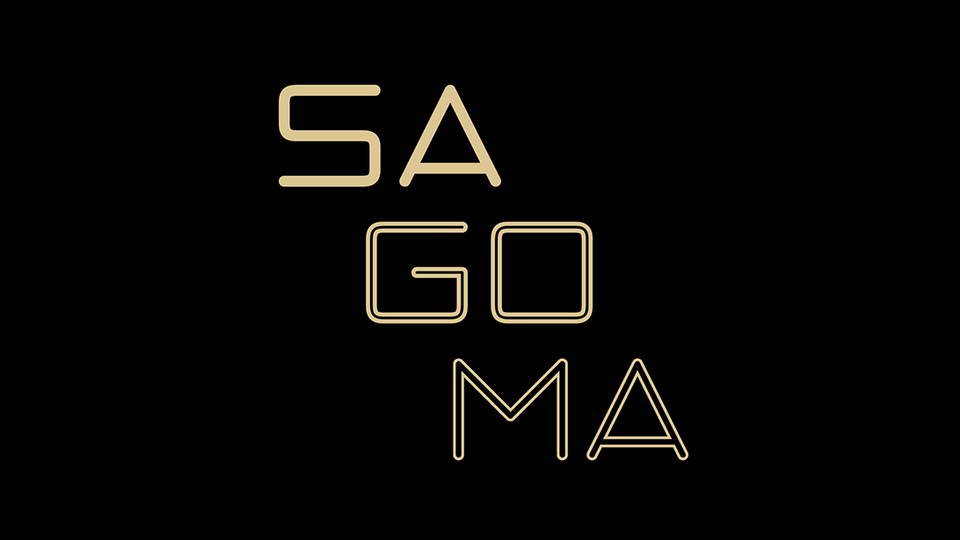 sagoma free font