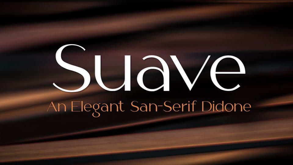 suave free font