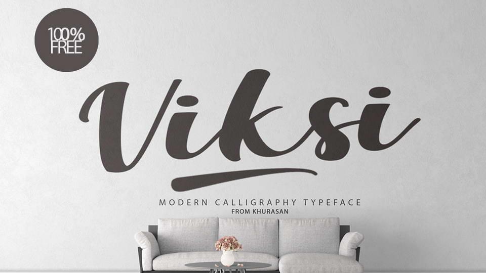 viksi free font