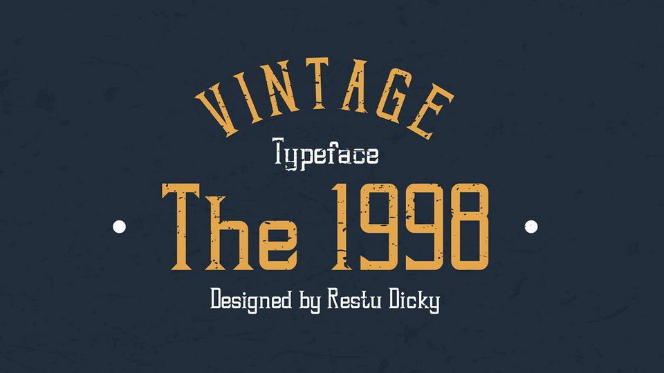 1998 free font