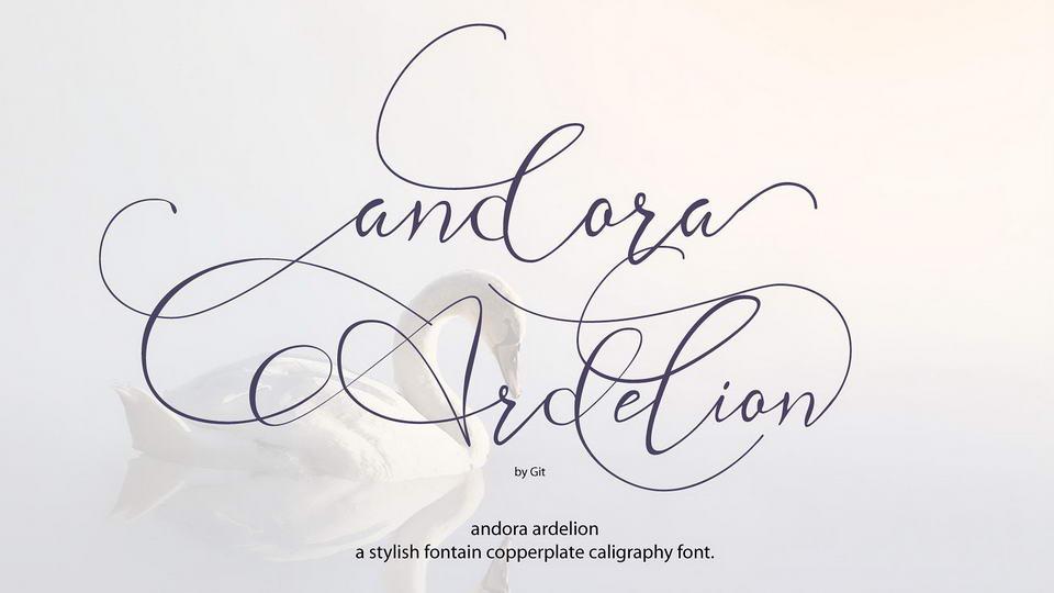 andora ardelion free font
