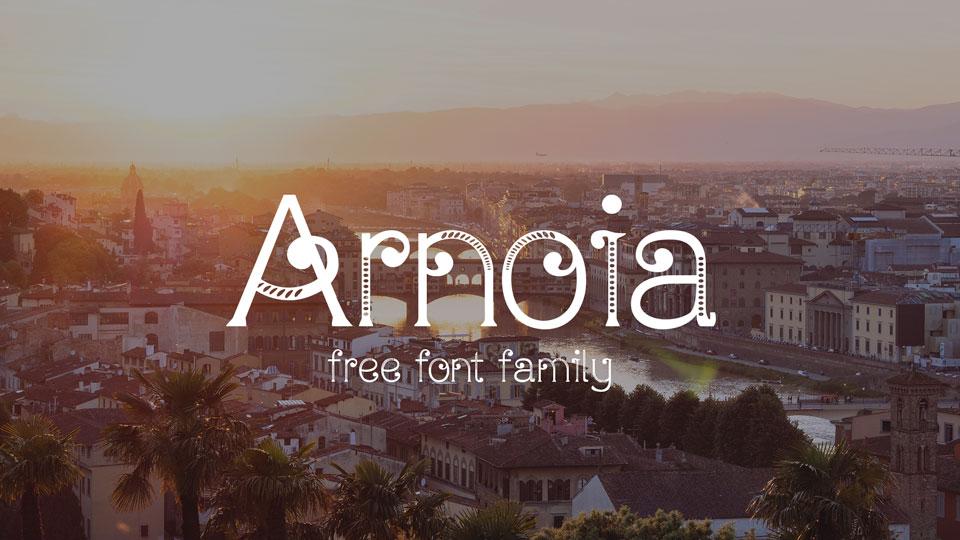 arnoia free font