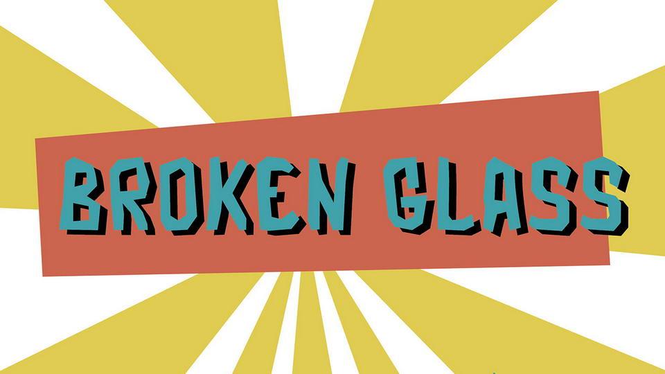 brokenglassfreefont