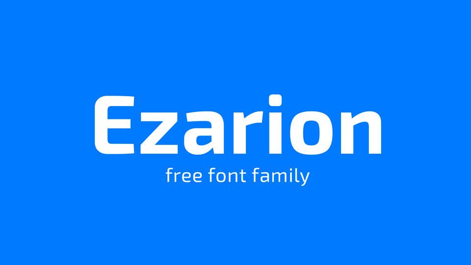 ezarionfreefontfamily