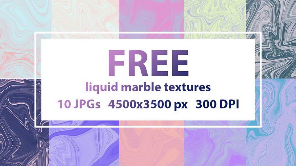 free liquid marble texture