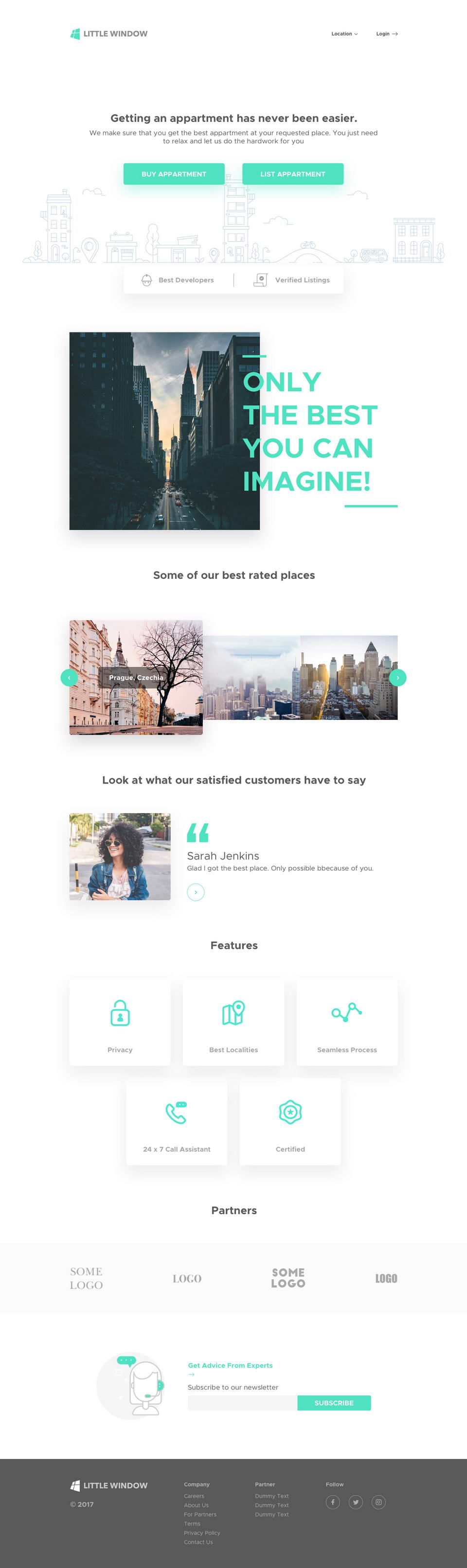 Real Estate Web Template Sketch Pinspiry