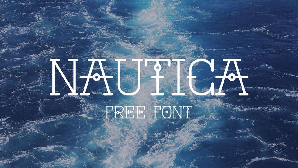 nautica free font