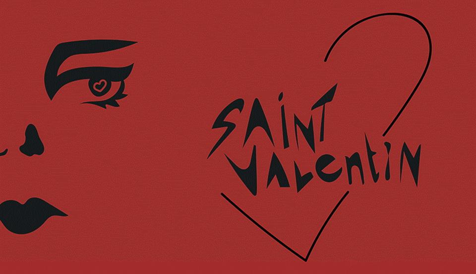 saint valentin free font