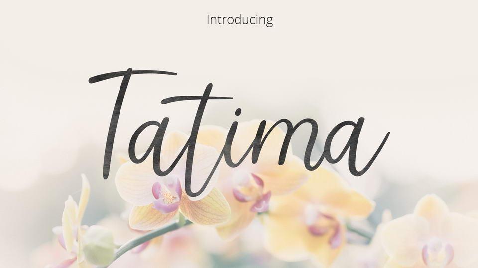 tatima free font