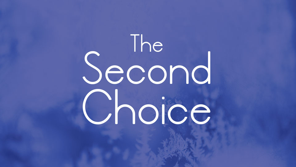 the second choice free font