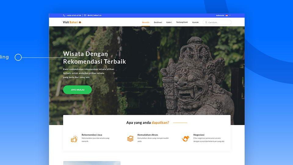 travelwebsitefreepsd