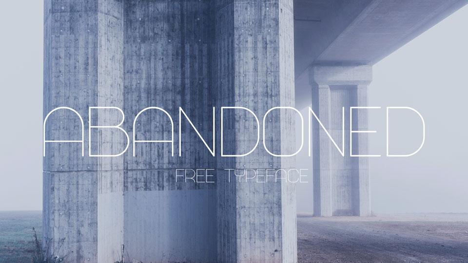 abandonedfreefont