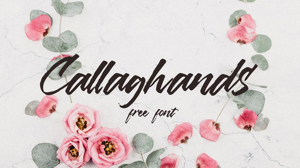 callahandsfreefont