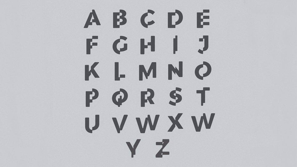 Corporate Glitch Free Font · Pinspiry