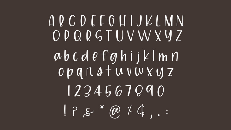 Happy Hippie Free Font Pinspiry