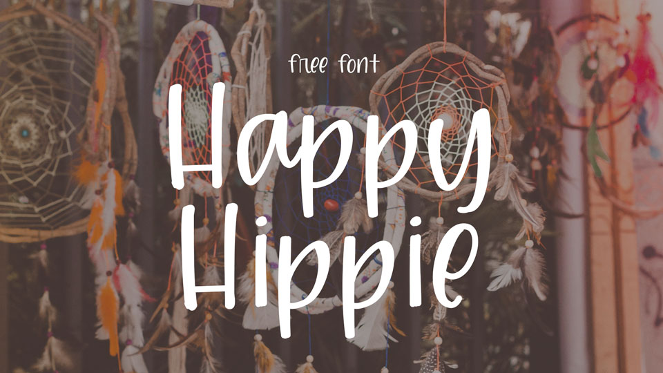 happyhippiefreefont