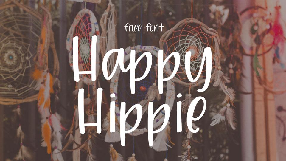 happyhippiefreefont