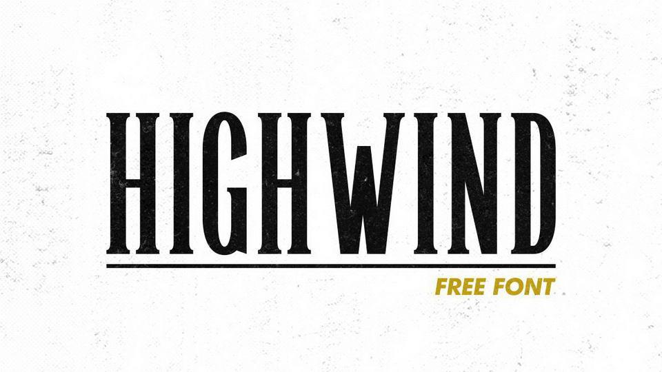 highwindfreefont