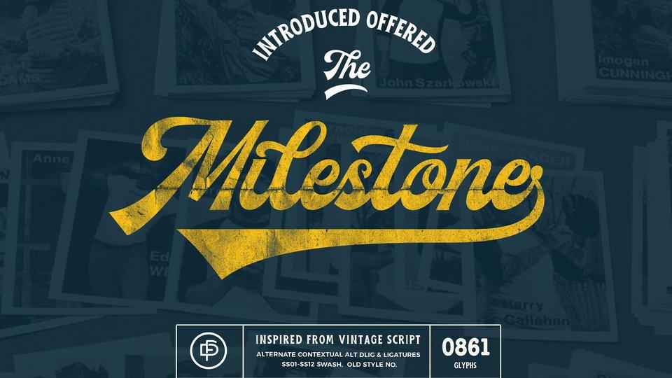 milestonefreefont