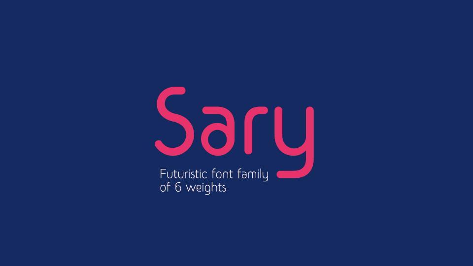 saryfreefontfamily